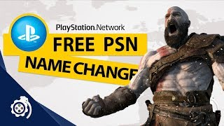 Free PSN Name Change | Everything You Need To Know