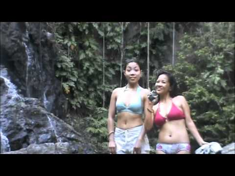 Surfing and Waterfall jump at Real, Quezon, Philippines