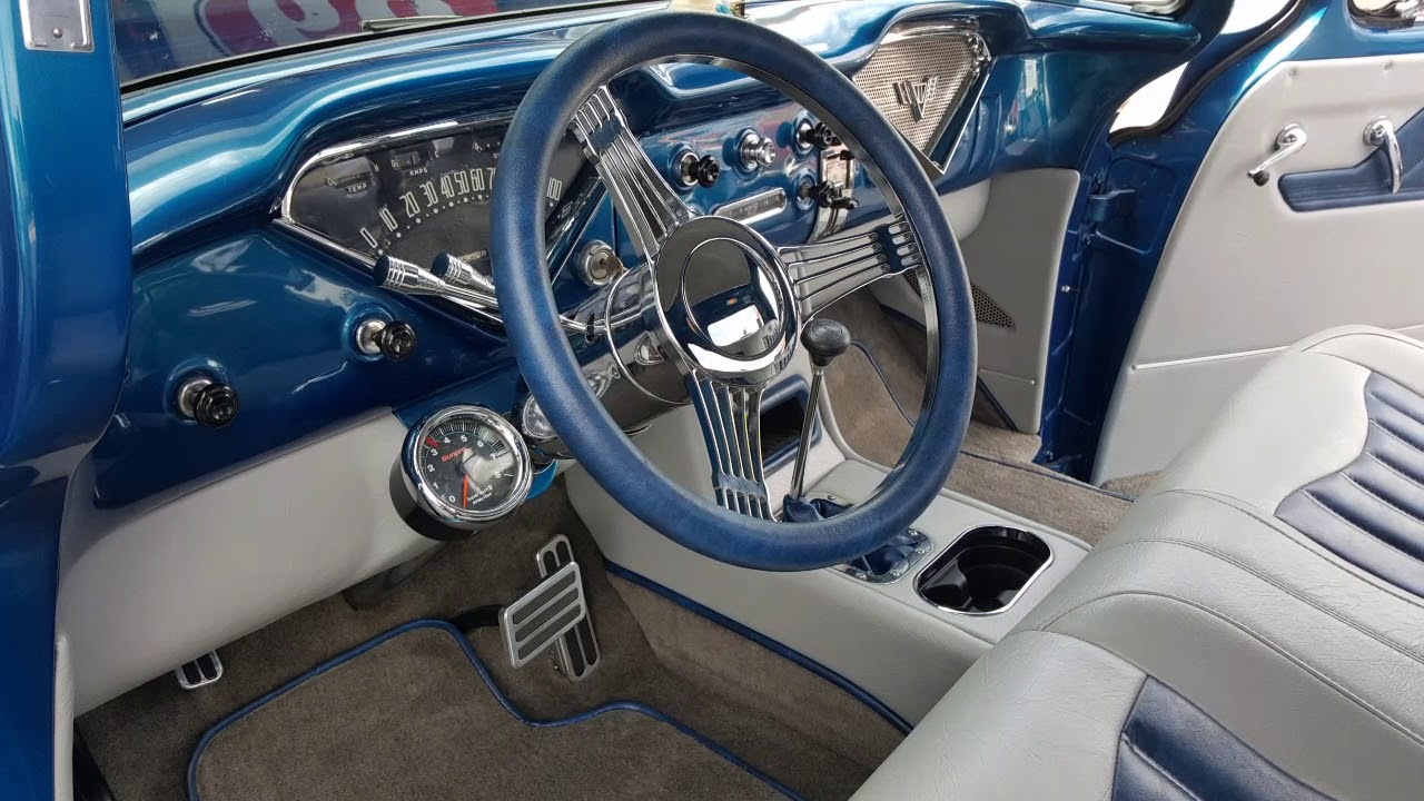 1955 Chevy Truck, Lunau0027s Custom Upholstery Hot Rod Interiors