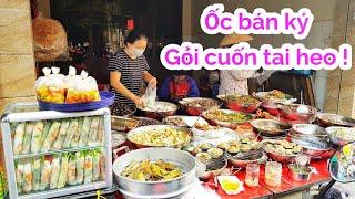 Bất ngờ Quán ốc bán ký hút khách xếp hàng mua ở Sài Gòn