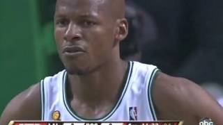 Boston Celtics vs Los Angeles Lakers 2008 NBA finals game1 part1