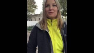 Скандинавская ходьба в парке Горького отзыв Ксении