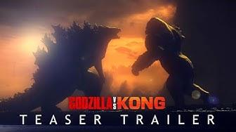 GODZILLA VS. KONG (2020) Teaser Trailer Concept - MonsterVerse Movie