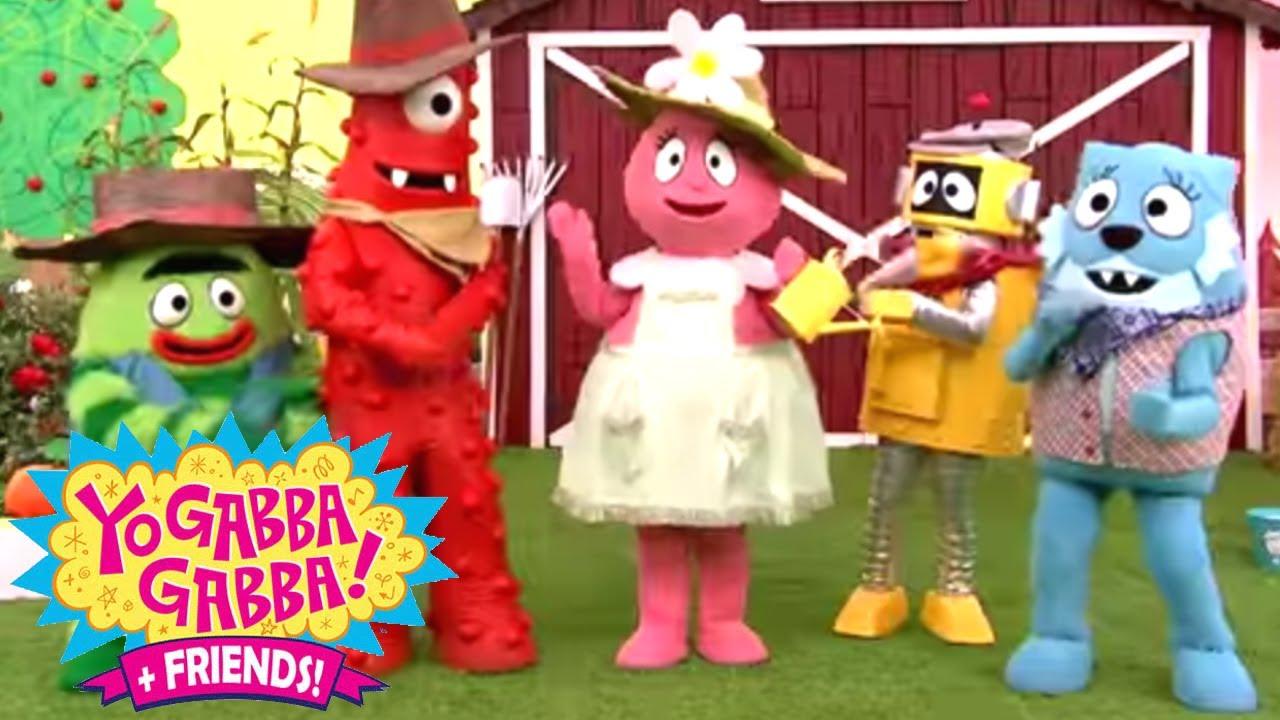 Yo Gabba Gabba 412 - Farm   Full Episodes HD   Season 4