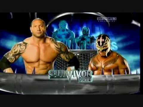 wwe survivor series 2009 full official match card my