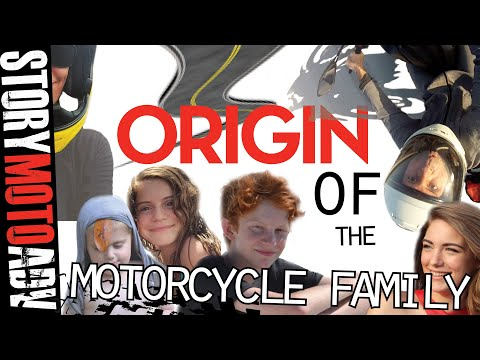 A NEW LIFE | Origin Of The Motorcycle Family-ADVENTURE RIDE AMERICA