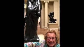 Dr Ruth looks at Rodin's Balzac at the Metropolitan Museum