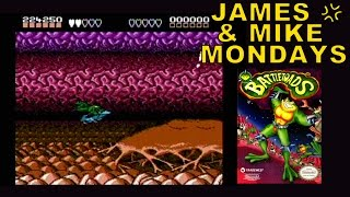 "Battletoads ""Turbo Tunnel"" (NES Video Game) James & Mike Mondays"