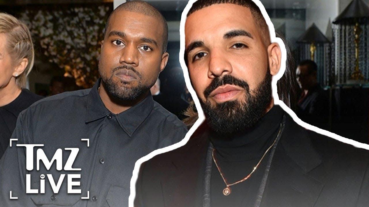Kanye West At War With Drake | TMZ Live