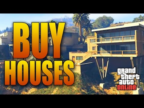 YOU CAN BUY HOUSES IN GRAND THEFT AUTO ONLINE! (New Executives And Other Criminals DLC)