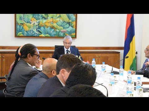 Pravind Jugnauth préside la première réunion du NESC de l'année