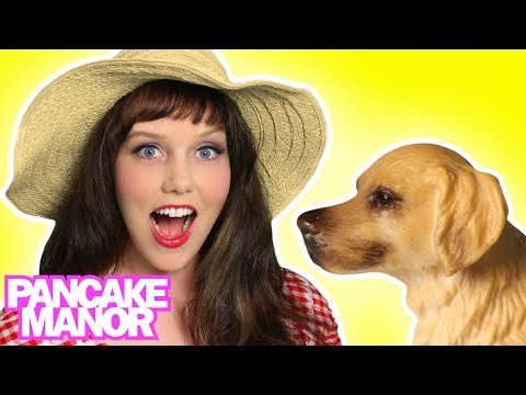 Animal Sounds Song For Kids | Learn Animals For Children | Kids Songs By Pancake Manor