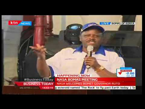 Isaac Ruto's full speech as he is welcomed into NASA