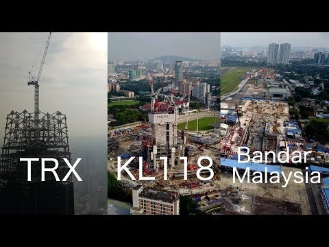 TRX, KL118 and Bandar Malaysia! How's the Progress? After Malaysia 14th General Election.