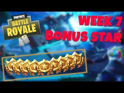WEEK 7 BONUS STAR LOCATION - SEASON 5 (Fortnite Battle Royale)
