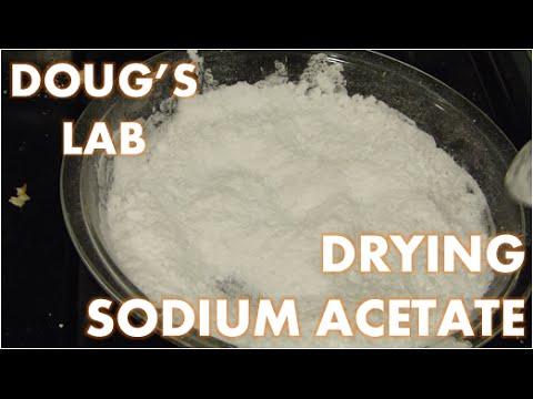 Easy Sodium Acetate Dehydration