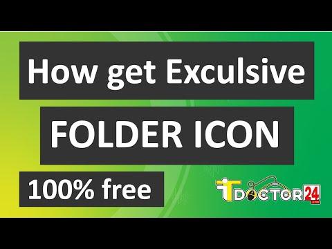 How to get Exclusive Folder Icon for 100% Free || কিভাবে ১০০% ফ্রীতে ফোল্ডার আইকন ব্যাবহার করবেন?