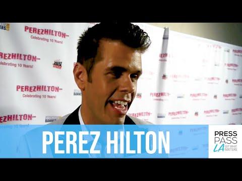 Perez Hilton Celebrates 10th Anniversary, PerezHilton.com