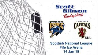 Kirkcaldy Kestrels vs Edinburgh Capitals (ensure HD is selected)