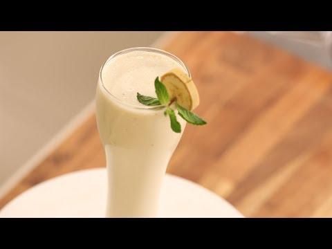 Banana Smoothie Curd | Sanjeev Kapoor Khazana