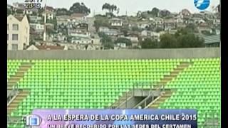 Breve recorrido por las sedes que será la Copa América Chile 2015 - 25/11/2014