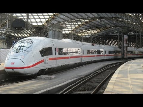 Trains at Cologne Hauptbahnhoff - August 20th 2015