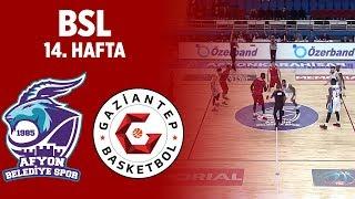 BSL 14. Hafta Özet | Afyon Belediyespor 71-73 Gaziantep Basketbol