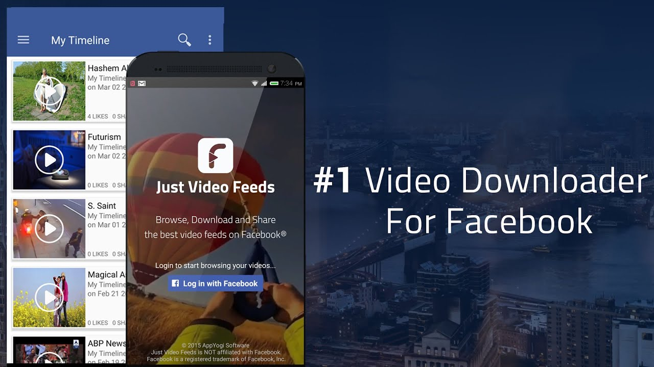 can i download a video from facebook to my phone