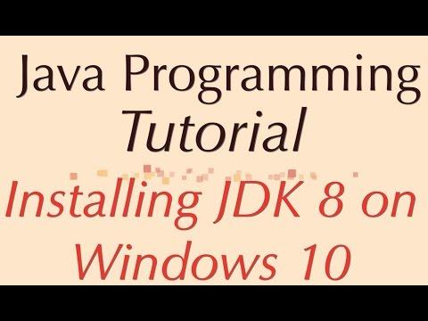 descargar java jdk 8 para windows 10