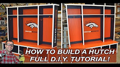 How to Build a Bedroom Hutch or Mudroom Hutch with DIY PETE