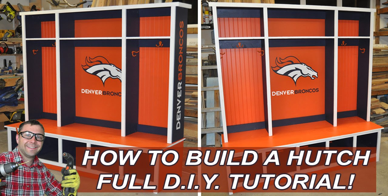 Hutch or Mudroom Hutch with DIY PETE