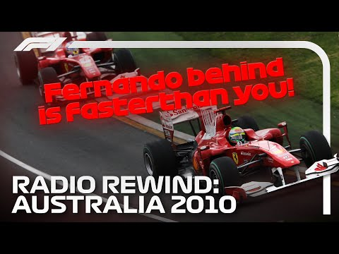 RADIO REWIND! 2010 Australian Grand Prix