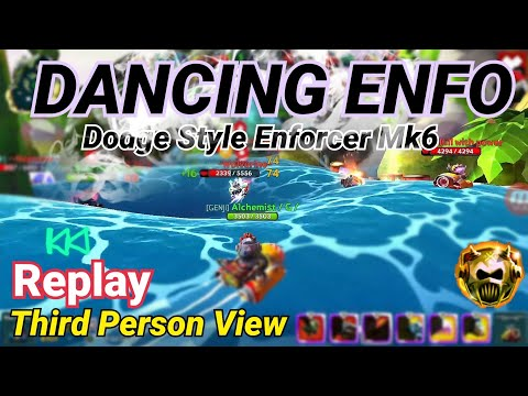 Back to Enfo《《Dodge Style Enforcer MK6《《NEW FUNCTION: Third person view || BATTLE BAY ||  Ki.ll 4x#1