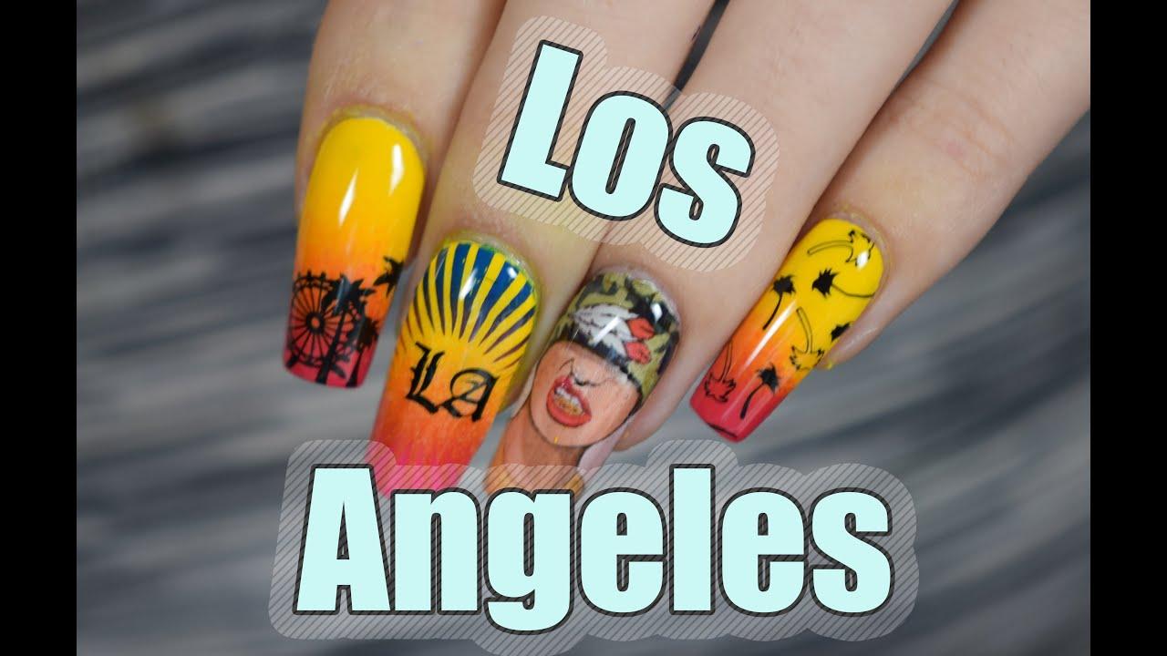 LOS ANGELES NAILS | Red Iguana| April Ryan - YouTube