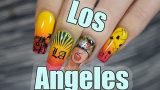 LOS ANGELES NAILS | Red Iguana| April Ryan