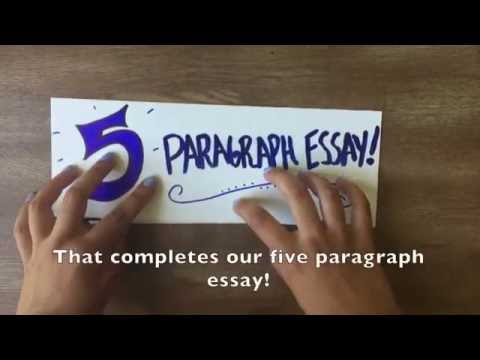 Видео Steps to writing a 5 paragraph essay