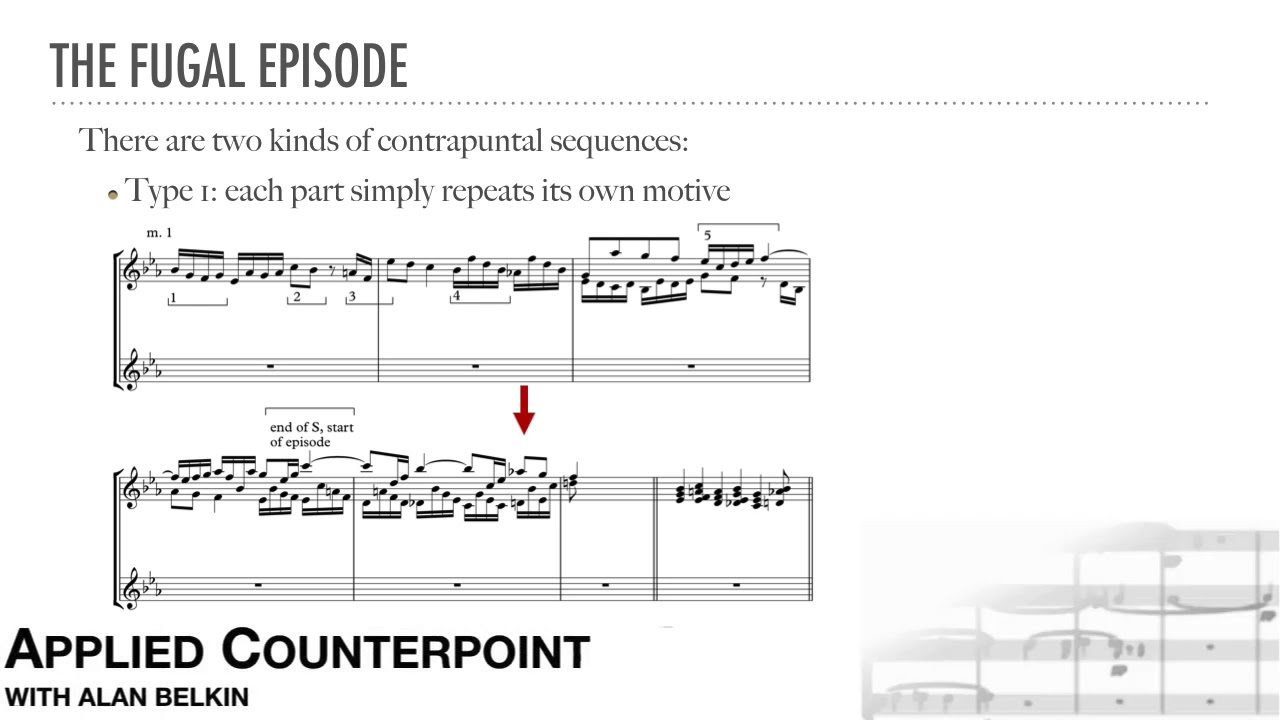 Counterpoint # 19 - Fugal Episode