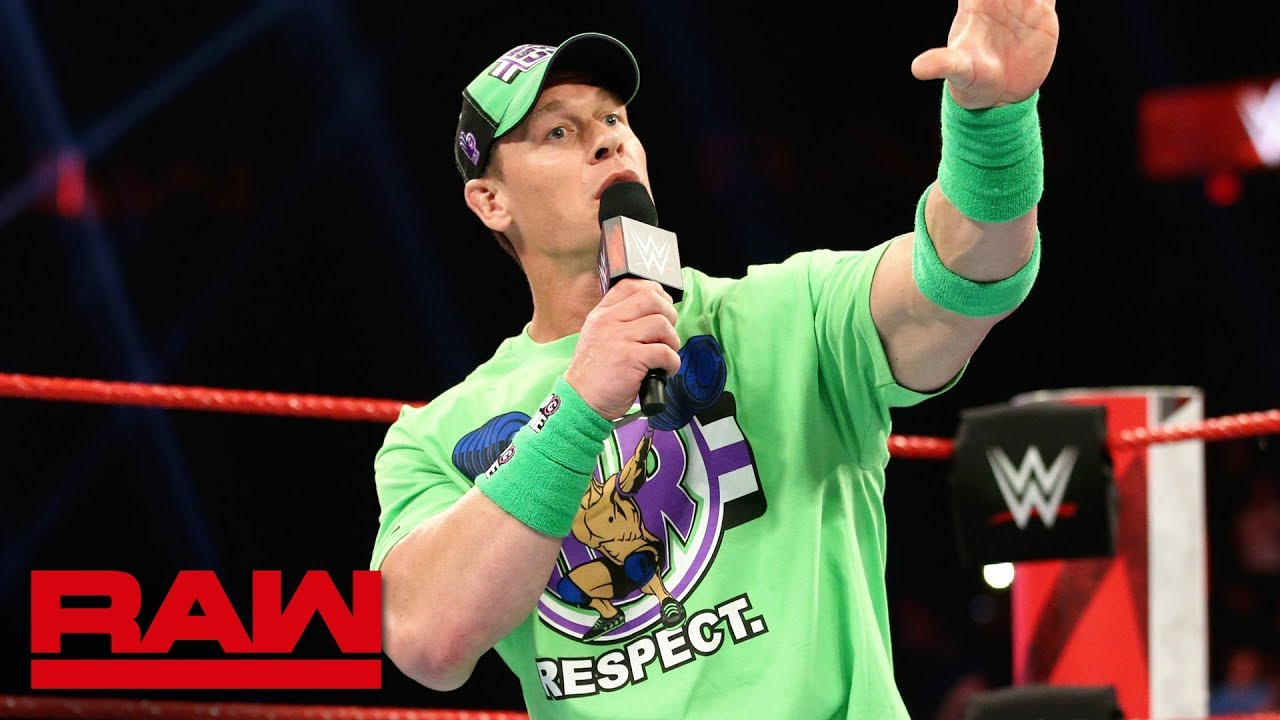 John Cena returns to kick off Raw Reunion: Raw Reunion, July 22, 2019