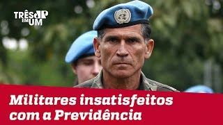 Forças Armadas se mostram contrários à inclusão de militares na reforma da Previdência