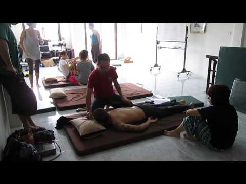 Phenkhae Thai Massage School Phuket Thailand, Tok-Sen Training 3