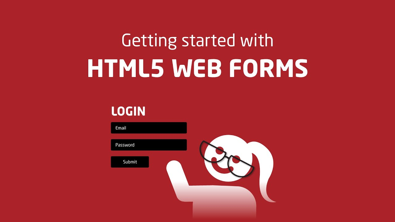 Creating simple web forms - W3Schools - YouTube