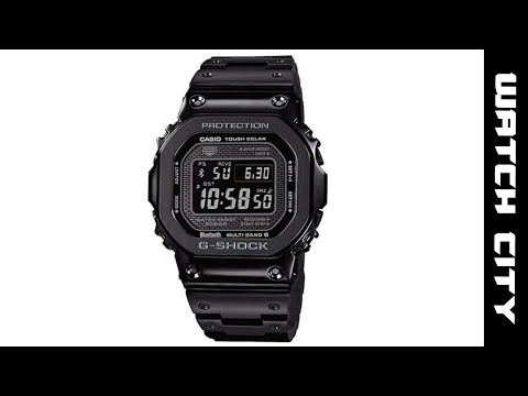 Casio G-Shock Full Metal Black IP 35th Anniversary LTD Watch GMWB5000GD-1