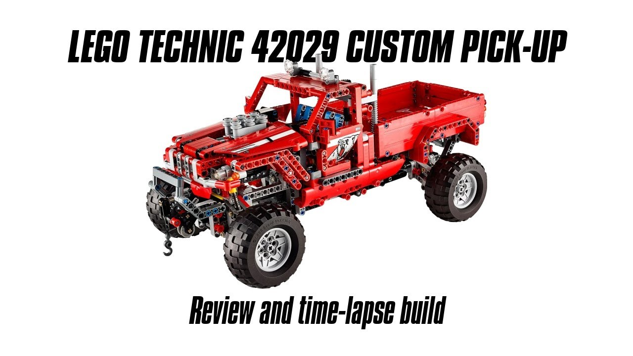 lego technic 42029 custom pick up build review youtube. Black Bedroom Furniture Sets. Home Design Ideas