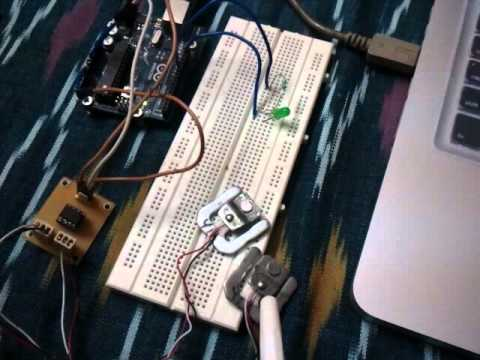 hqdefault load sensing using 3 wire load cells youtube 3 wire load cell wiring diagram at crackthecode.co