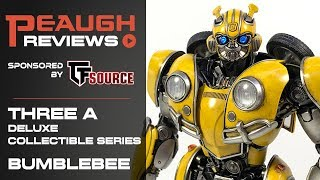 Video Review: Three A Deluxe Collectible Series BUMBLEBEE