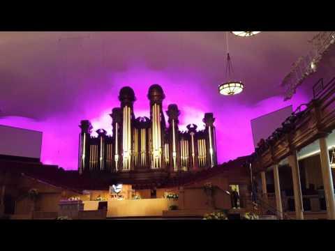 Tabernacle Organ Recital, Salt Lake City 3/31/17