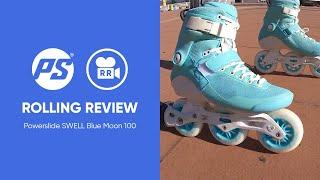 Powerslide Swell Blue Moon 100 Fitness Inline Skates
