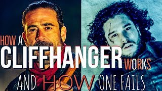 What Makes A CliffHanger Work & What makes One Fail (Game of Thrones vs Walking dead