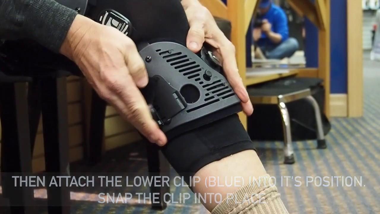 0c2bdda8f9 OSSUR Unloader One Knee Brace - YouTube