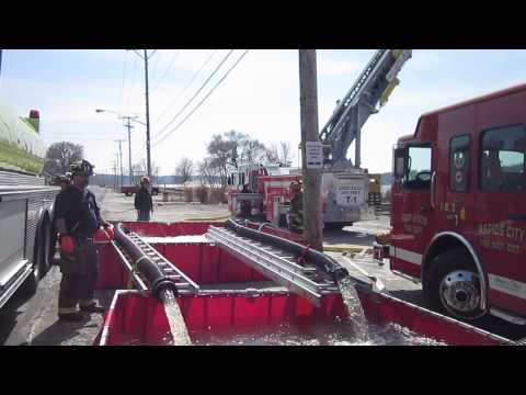Part 3 - Rural Water Supply Drill - Port Byron, Illinois - March 2014